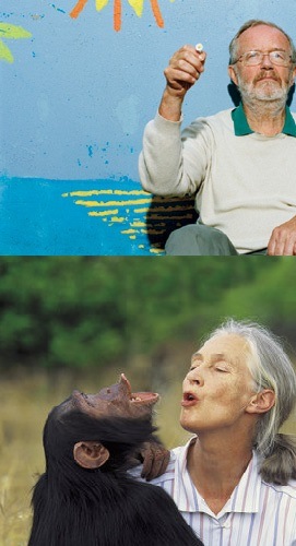 norman myers & jane goodall combined