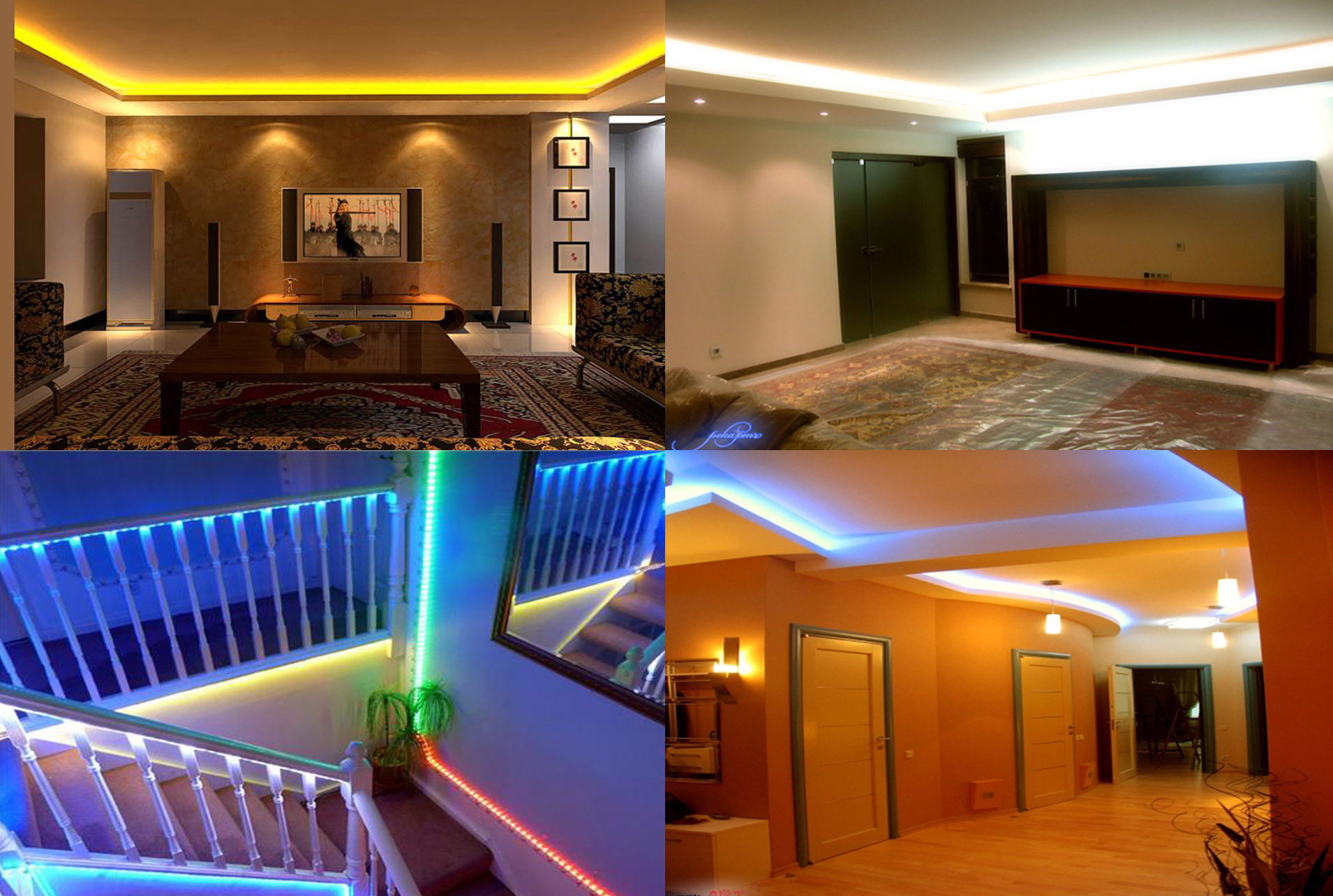 How to install led strip lights led striplights image aloadofball Images