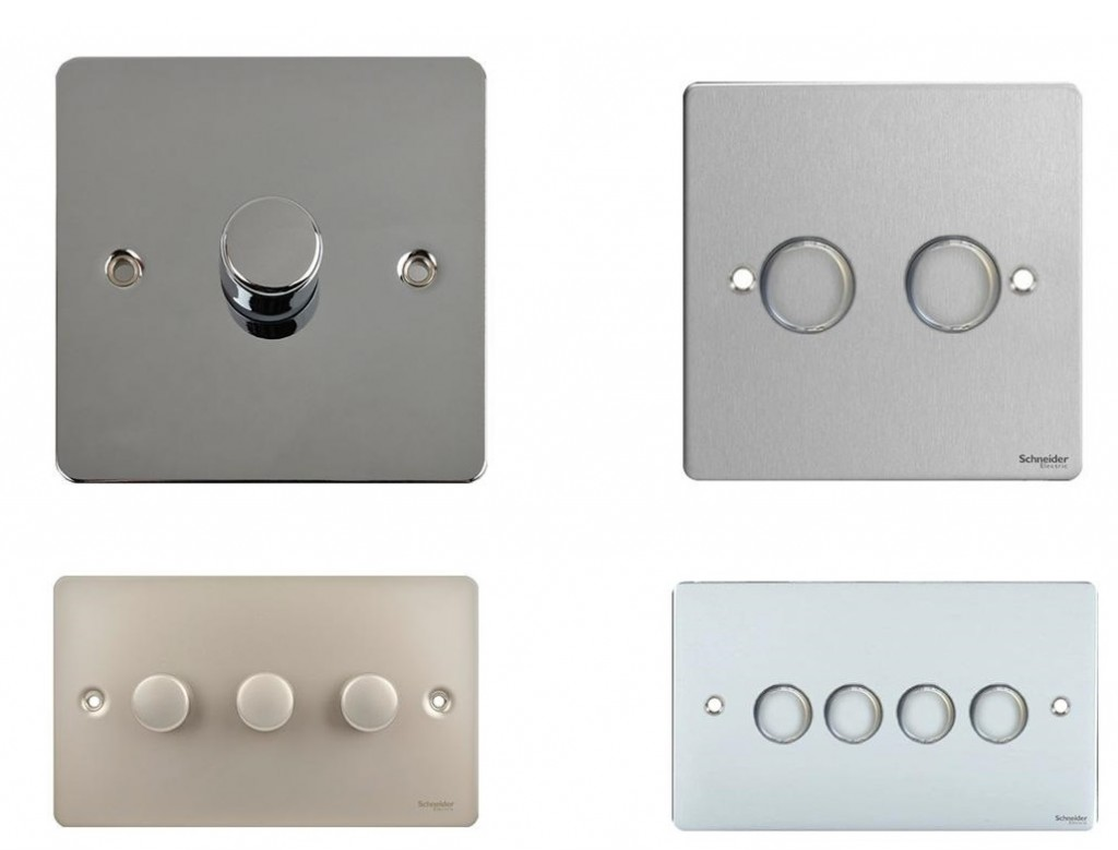 modern electrical switches and sockets