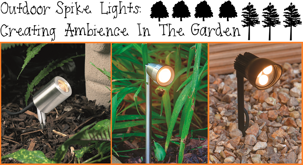 Outdoor lighting garden spike lights for added ambience outdoor spike lights image aloadofball Choice Image