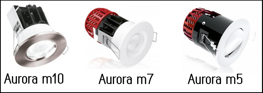 Aurora M series downlights