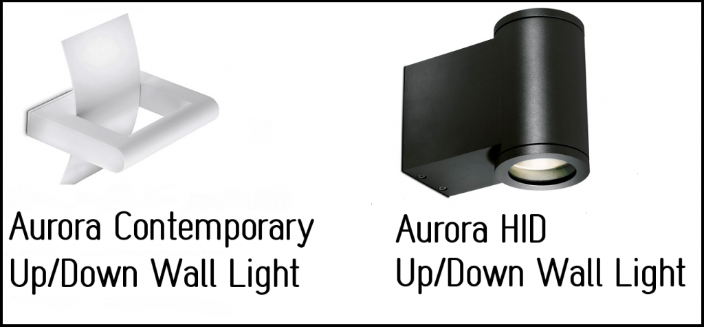 aurora wall lights 1