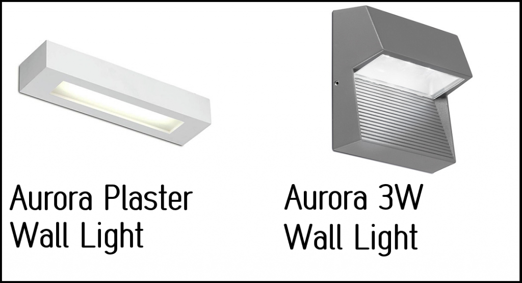 aurora wall lights 2