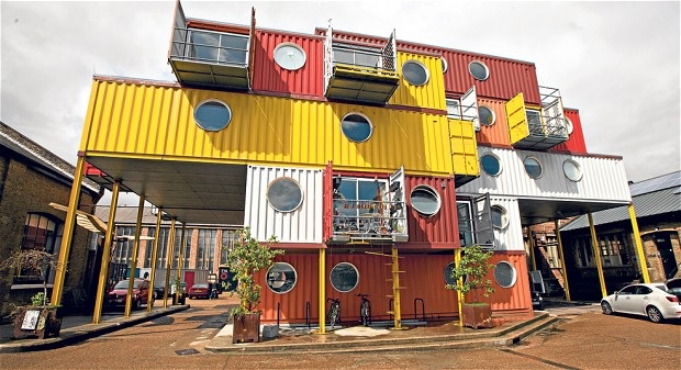 container city Building Designs