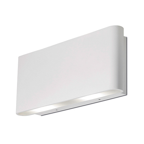 Led Wall Lights Indoor Uk: Aurora Lighting IP54 LED Wall Light, LED Wall Lights