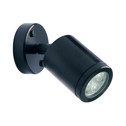 Collingwood LED wall flood light, LED lighting, WL020A BLK F WW UK