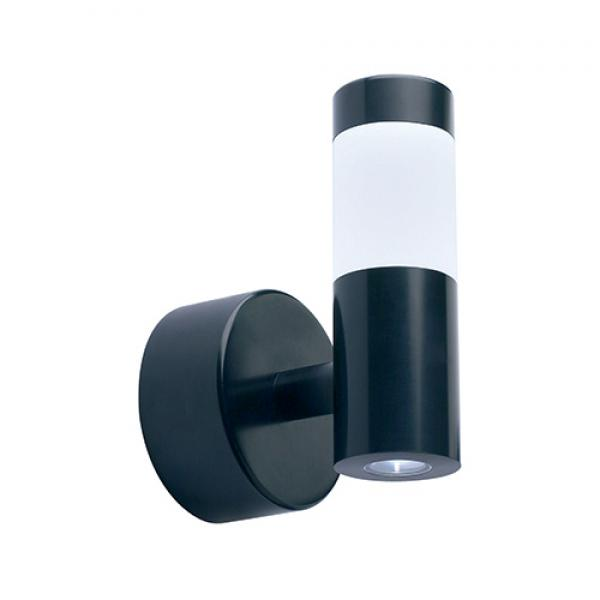 Mains halo and LED spot wall light, wall lights, WL160 WH, Collingwood UK