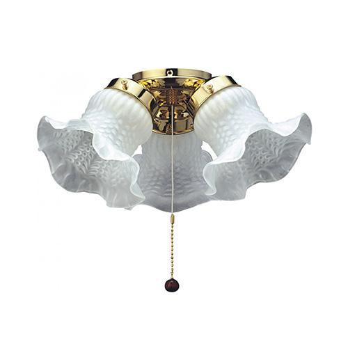 fantasia tulip 3 light ceiling fan kit ceiling fan light. Black Bedroom Furniture Sets. Home Design Ideas