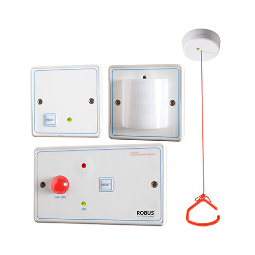 Disabled Person Toilet Alarm Kit Nurse Call Systems