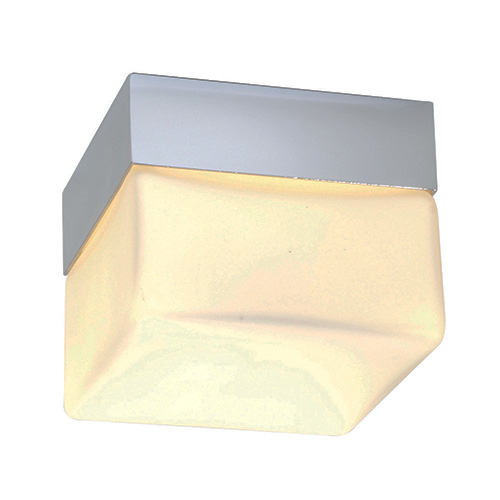 saxby lighting square small ip44 28w light bathroom lighting 34276